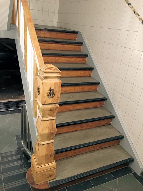 Rustikale Treppe - Vorher