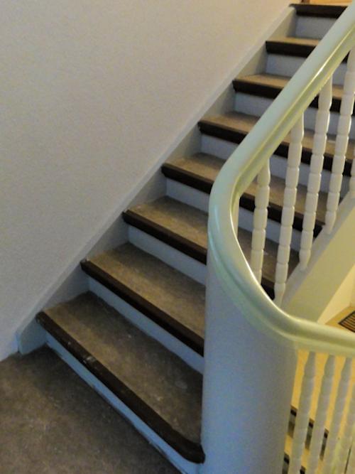 Treppenhaus vor Renovierung